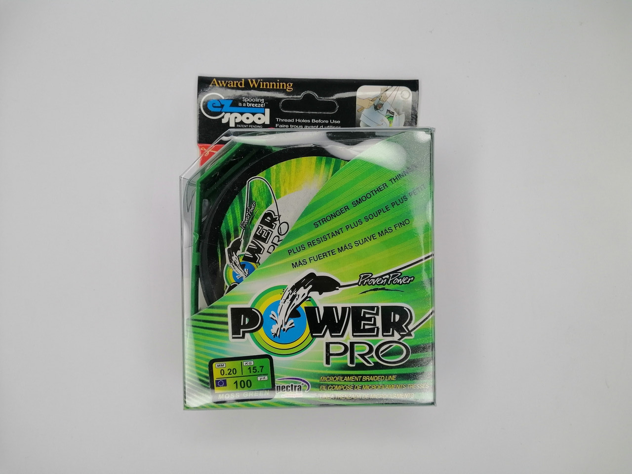 Шнур Power Pro 100-125m  0.20mm