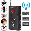 Радиочастотный детектор волнового сигнала  Wi-Fi, RF, GSM, объектива камер Kobeton CC308+, фото 2