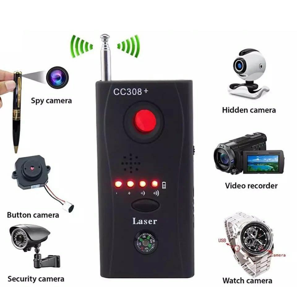 Радиочастотный детектор волнового сигнала  Wi-Fi, RF, GSM, объектива камер Kobeton CC308+