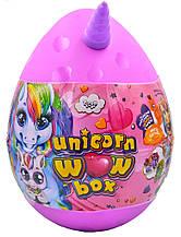 """Подарунковий набір для творчості """"Unicorn WOW Box"""" РОЖЕВИЙ арт. UWB-01-01"""