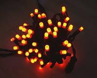 Светодиодная гирлянда Стринг Лайт LED-PLR-100-240V (100 св, цвет красный, жёлтый) )