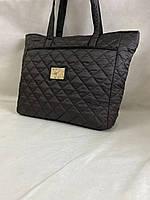 Стильная стеганая вместительная женская сумка, фото 1