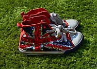 Кросівки, кеди, взуття для дівчинки! демисезон. б/у 20см стелька