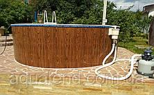 Басейн каркасний круглий морозостійкий 3,6 х 1,07 м Mountfield (Чехія) 400DL без обладнання, фото 3