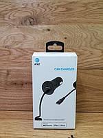 Автомобільний зарядний пристрій для IPhone AT&T Car Charger lighting (NEW), фото 2