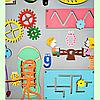Развивающая доска размер 50*60 Бизиборд для детей 41 элемент!, фото 4