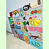 Развивающая доска размер 50*60 Бизиборд для детей 41 элемент!, фото 6