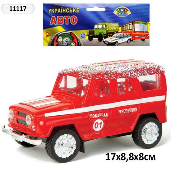 Машина инерционная УАЗ 11117 Пожарная