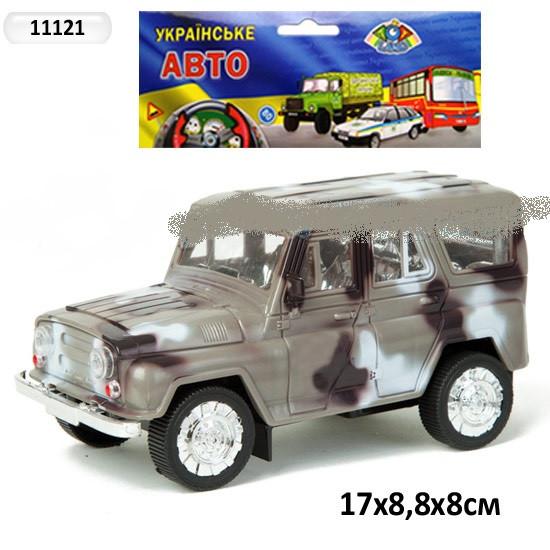Машина инерционная УАЗ 11121 Военная