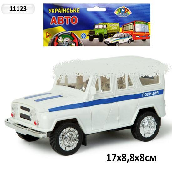 Машина инерционная УАЗ 11123 Полиция
