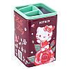 "Стакан для ручок ""Kite"" №HK19-105 квадр. Hello Kitty(12), фото 6"