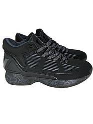 Кроссовки мужские черные для улицы по стилю как adidas Drose