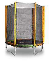 Батут KIDIGO™ 140 см. с защитной сеткой, фото 1