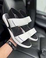 Женские босоножки кожаные летние белые Best Vak Air Л64-06 б, фото 1