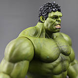Супер-реалистичная фигурка Халка высотой 26см - Hulk, Avengers, Marvel, фото 6