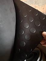 Автодорожка резиновая монетка(полоска) ширина 1,2м (рулон 40-60кг)