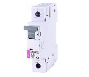 Автоматический выключатель ETI ETIMAT 6 1p С 16А Nx2701