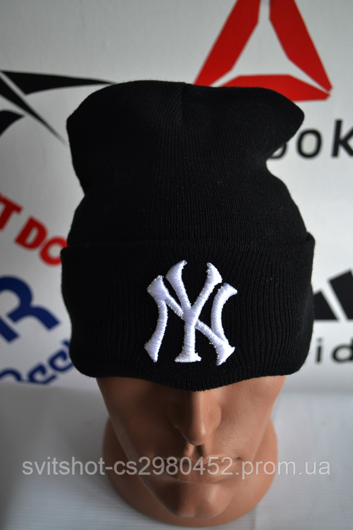 Шапка New York черного цвета
