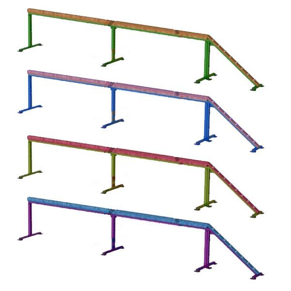 Бревно для полосы препятствий DIO641.1 ППС. Для школы и образовательных учреждений.