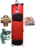 Твердотопливный котел длительного горения SWaG D 10 кВт