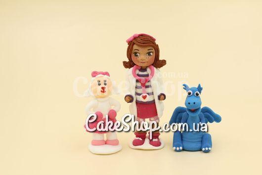 Сахарные фигурки Доктор Плюшева с игрушками