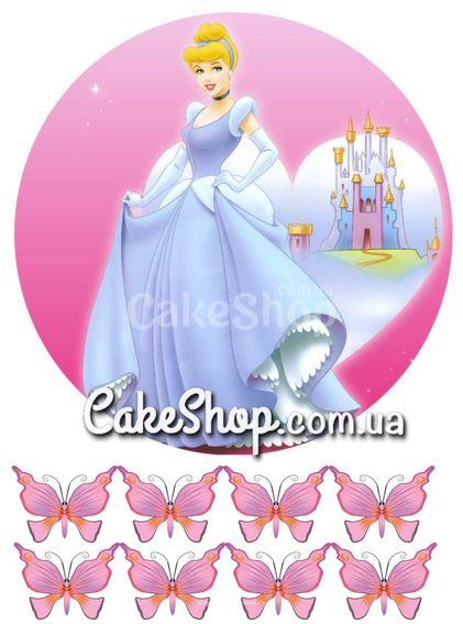 Сахарная картинка Принцесса Золушка