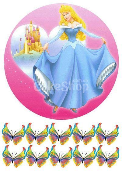 Вафельная картинка Принцесса Аврора