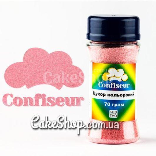 Сахар цветной пастельный розовый