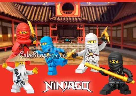 Сахарная картинка НиндзяГо 7