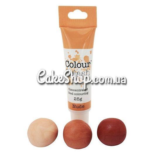 Гелевый краситель Colour Splash, 25 г Nude