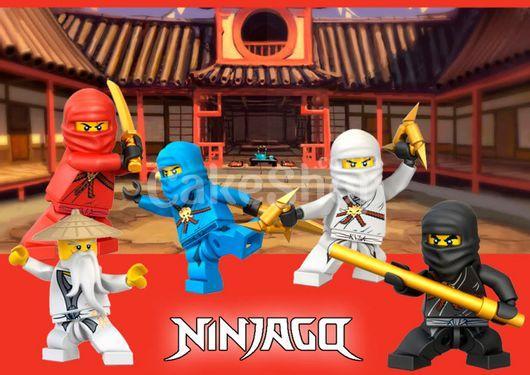 Вафельная картинка Ниндзяго 47