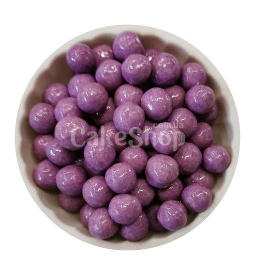 Посыпка шарики глянцевые Сиреневые 10 мм, 50 г