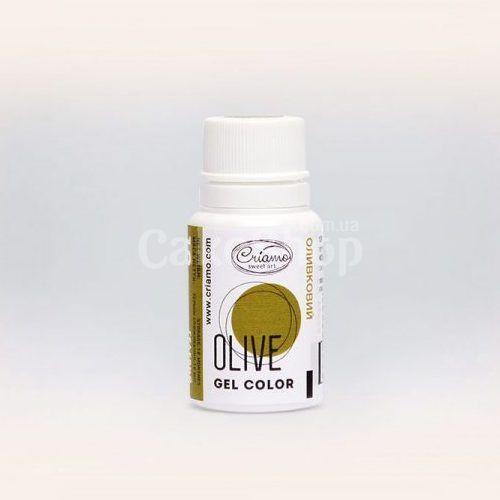 Краситель гелевый Criamo Olive Оливковый 10 г
