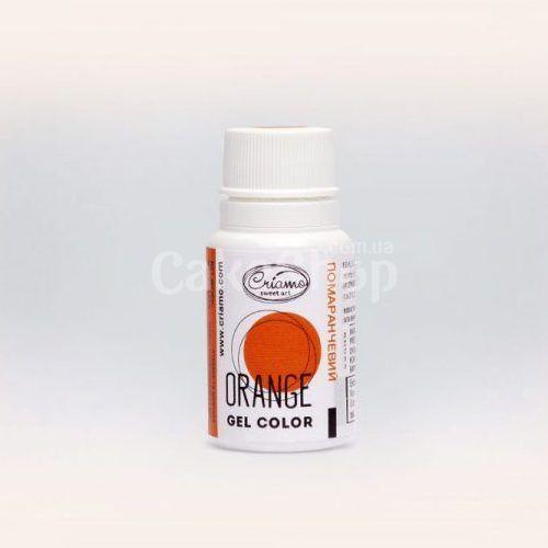 Краситель гелевый Criamo Orange Оранжевый 10 г
