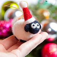 Набор для творчества Сделай сам Art Wool Ёлочная игрушка «Барашек»