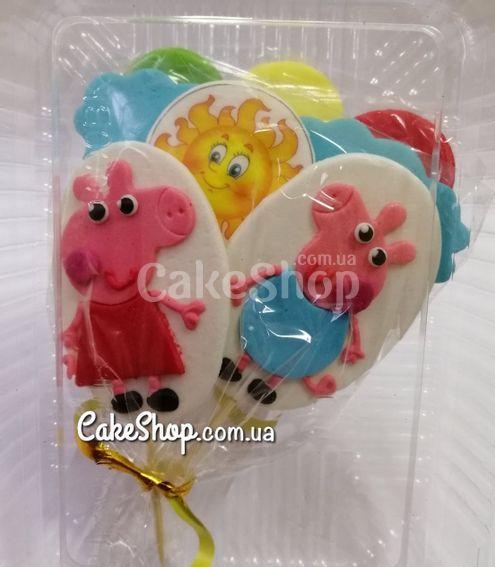 Сахарные фигурки Набор Свинка Пеппа