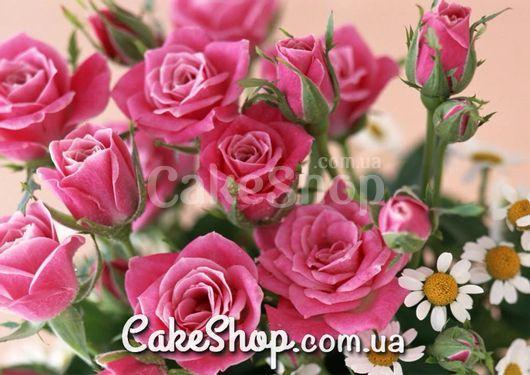 Сахарная картинка Розы 1