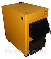Твердотопливный котел КОТВ-14ДЭ с топкой для дров+электротэны