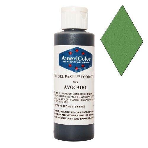 Краситель гелевый Авокадо AmeriColor 128 г
