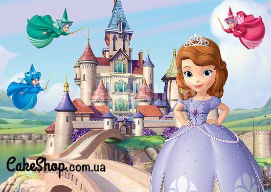 Сахарная картинка Принцесса София 5