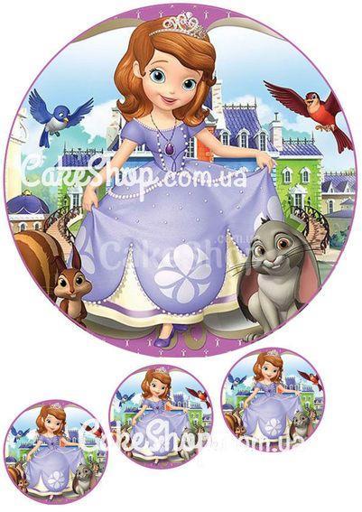 Сахарная картинка Принцесса София 9