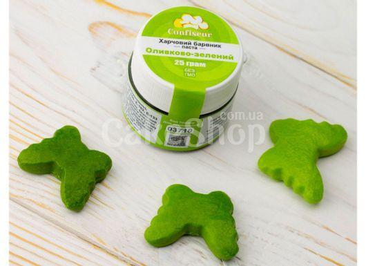 Краситель пастообразный Оливково-зеленый Confiseur