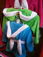 Модный тёплый детский халатик Зайчик