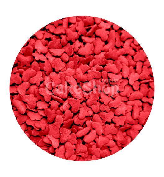 Посыпка сахарная Бабочки красные, 50 г