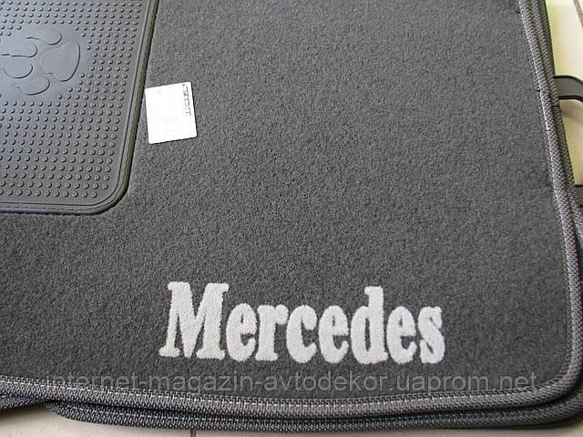 Коврики салона текстильные для Mercedes (Мерседес)