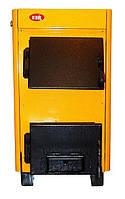 КОТВ-18В Твердотопливный котел с водогрейным контуром (двухконтурный), фото 1