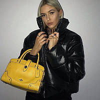 Женская демисезонная куртка короткая. Пуховик женский осенний в стиле Zara, размер L (черный)