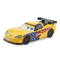 Машинка Джефф Jeff Gorvette Die Cast Car М-ф Тачки Оригинал Disney Store