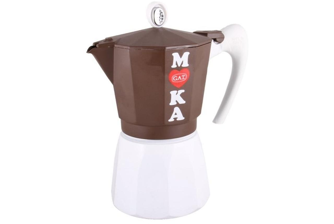 Гейзерна кавоварка GAT Golosa Induction на 3 чашки (172103)