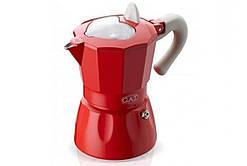Гейзерная кофеварка GAT Rossana красная на 3 чашки (103103 червона)